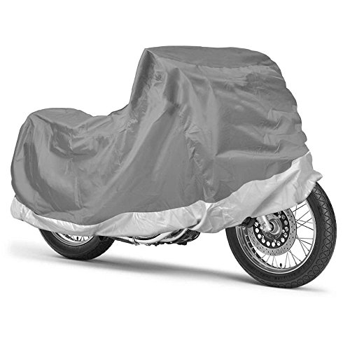 Motor Trend WeatherWear 1-Poly Layer Water Resistant Motorcycle Cover (M) 80