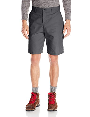 Red Kap Men's Plain Front Short, Charcoal, 48x10
