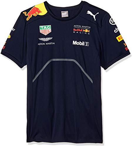 Red Bull Racing F1 Mens Team T-Shirt 2018 L Blue ()
