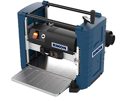 "RIKON Power Tools 25-131H 13"" Portable Planer with Helical Cutter head"