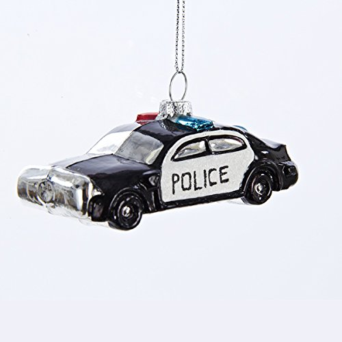 Kurt Adler Police Car Ornament