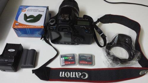 Canon EOS 40D DSLR with 17-85mm lens (Eos Canon 40d)