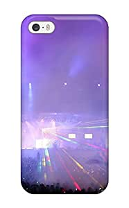 Anti-scratch And Shatterproof Concert Phone Case For Iphone 5/5s/ High Quality Tpu Case