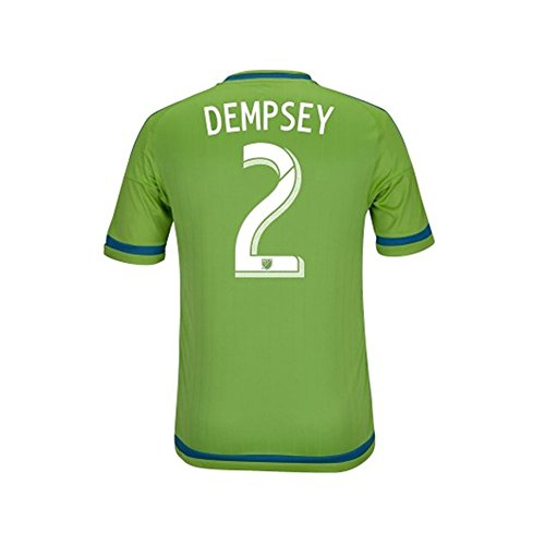 Dempsey #2 Seattle Sounders FC Home Soccer Jersey 2015 (S)