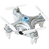 ChangeYOu Cheerson CX-10W Mini FPV Quadcopter 2.4G 4CH 6 Axis 0.3MP Camera RC Drone (Silver)