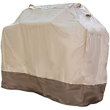 "Grill Cover - Waterproof Heavy Duty Gas Barbecue Cover (Medium 58"" x 24"" x 48"")"