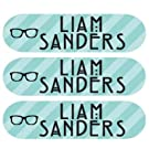 Laundry Care Tag Clothing Labels - Personalized Vinyl Name Labels