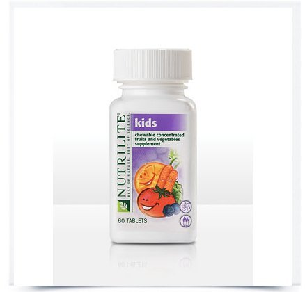 NUTRILITE® Kids Chewable Concentrated Fruits and Vegetables - 60 Count (Chewable Vegetable And Fruit)