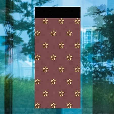 24x24 CGSignLab Yard Sale Chalk Burst Perforated Window Decal 5-Pack