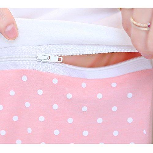 Di Grigio Xfentech Abiti Gravidanza Maternity Allattamento Donne Manica Della Di Di Modo Vestito Corta Infermieristico Delle Colore Caramella Top FdUq8n1d