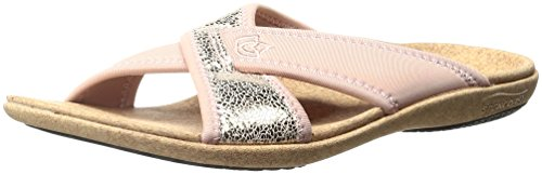 Spenco Women's Lingo Slide Sandal Rose lf95KgrNE