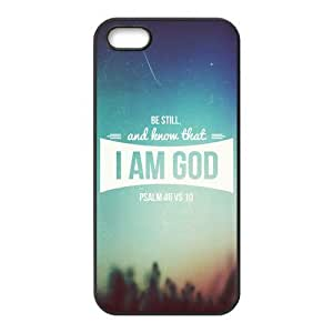 Bible Verse Psalm Protective Cell Phone Cover Case for iPhone 5,5S Cases Designed by HnW Accessories hjbrhga1544