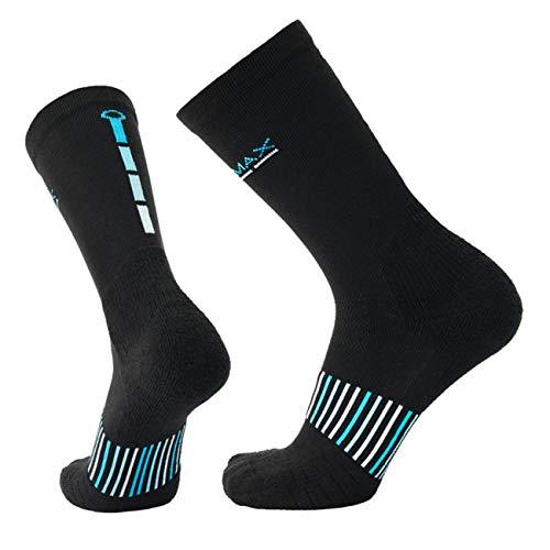 - COOLMAX Brand 3 pairs Performance compression Crew cushion Socks for Men & Women (15-20 mmHg) Socks