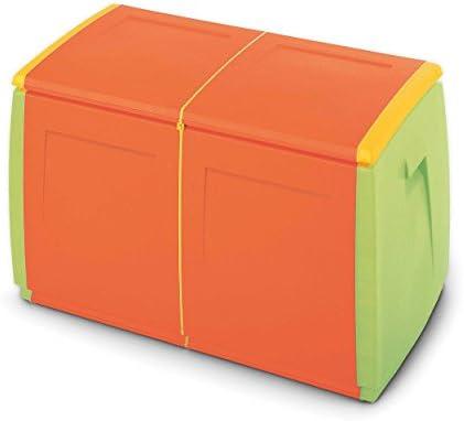 Terry In & out Box 55 Kids Baul Multifuncional con Capacidad 120 litros. Se Puede Utilizar en ambientes internos y externos, Naranja, 54x54x57 cm: Amazon.es: Bricolaje y herramientas