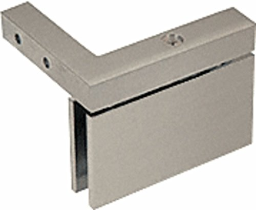 C.R. LAURENCE CAR05LBN CRL Brushed Nickel Cardiff Series Left Hand Mount -