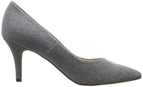 Donna Shimmer Grau col Tacco Scarpe Ebby Kaiser 093 Peter Topas wn1qHXf8xY