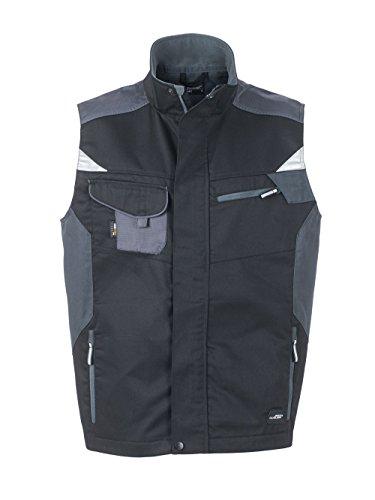 Qualità Equipaggiamento Black Da Alta Con carbon Lavoro Workwear Professionale Vest nbsp; Di Gilé xI40qn0