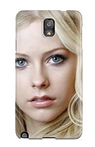 YY-ONE Celebrity Avril Lavigne Phone Case For Galaxy Note 3/ High Quality Tpu Case