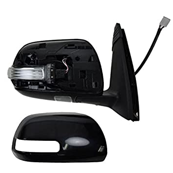For 10-11 4-Runner Power Heat w//Turn Signal Puddle Lamp Mirror Right Passenger