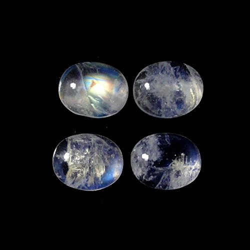 - Rainbow Moonstone Cabs Approx. 14 Carat Oval 11x9mm (308)
