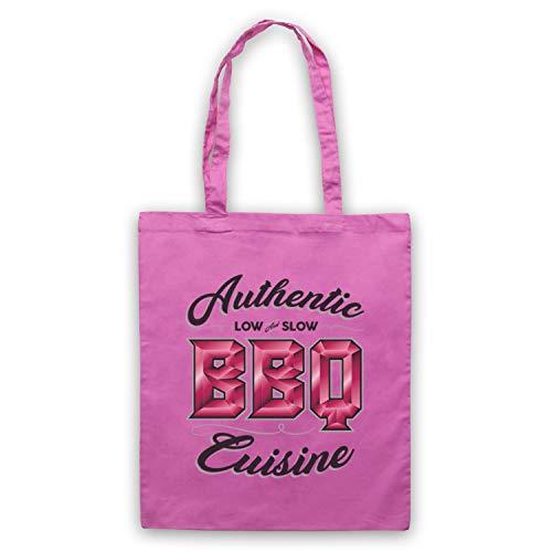 Bbq Clothing Rosa Slow Bassa Bolso Cuisine Icon My Art Authentic wqIZvI