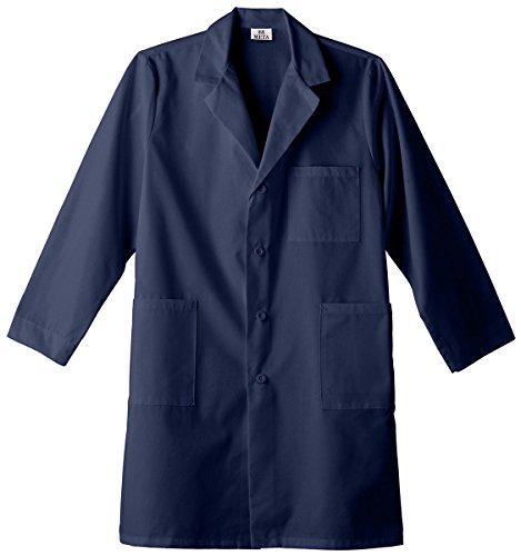 Meta Unisex 40'' Labcoat_Navy_L_6116 by Meta (Image #1)