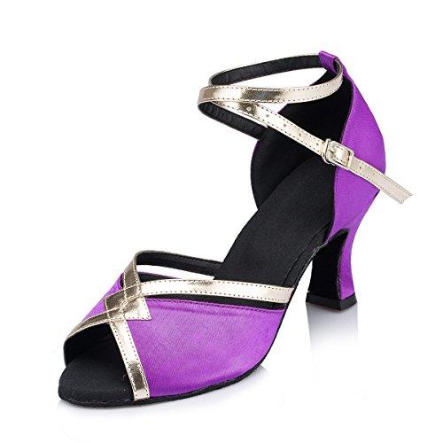 7cm bal Purple de Heel Miyoopark Salle femme qgxEpqXZ