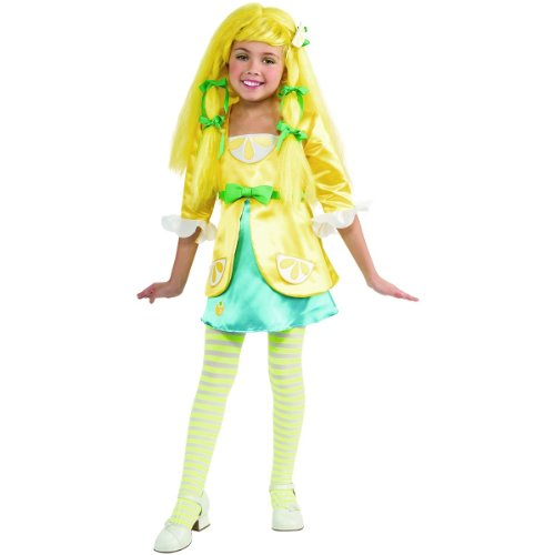 Rubies Strawberry Shortcake and Friends Deluxe Lemon Meringue Costume, Small -