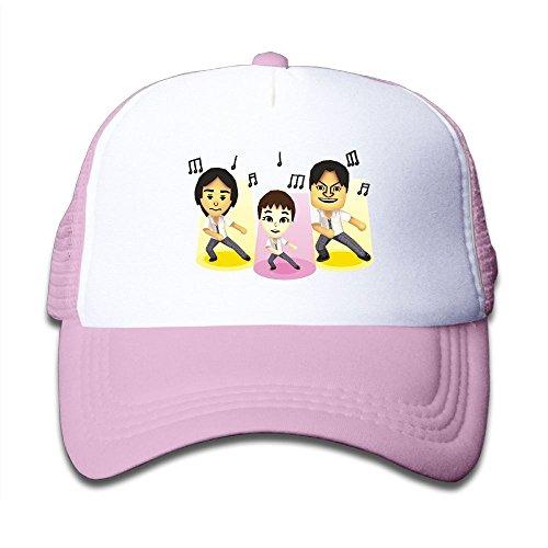 Cheap DNUPUP Kid's Gay Win Adjustable Casual Cool Baseball Cap Mesh Hat Trucker Caps hot sale