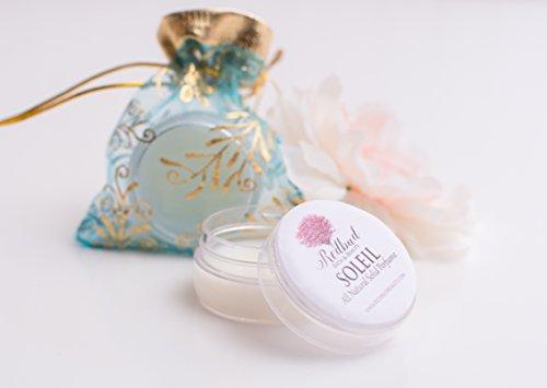 "Solid Perfume Fragrance .50 oz ""Soleil"" All Natural Essential Oil Fragrances"