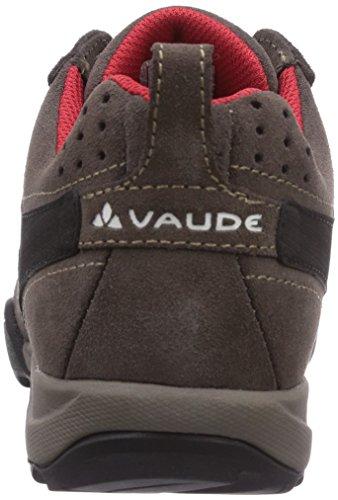 Braun Brown Outdoor Leva Women's Shoes Women's Vaude Red Claret 237 Multisport 0YTfP6qYn4