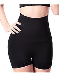 NINGMI Women's Hi-Waist butt lifter Shapewear Tummy Control Panties