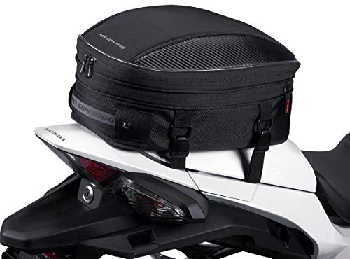 (Nelson-Rigg Black CL-1060-S Sport Tail/Seat Bag)