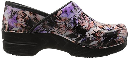 Sanita Womens Smart Step Professional Sophia Mule Rose Multi o8Z54CB