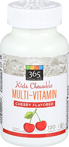 365 Everyday Value, Kid Multi Chewable Cherry, 120 ct