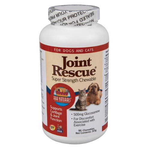 "Ark Naturals Joint""Rescue"" Super Strength Chewable for Cats and Dogs, 90 Each"