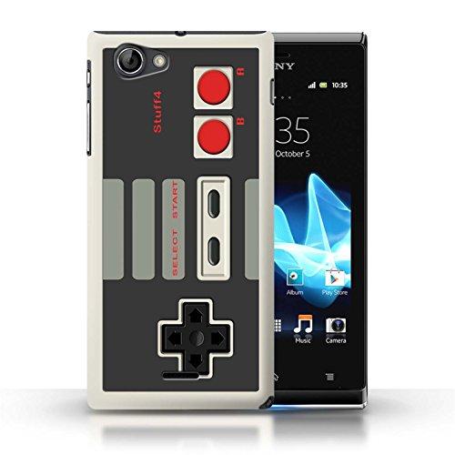 Etui / Coque pour Sony Xperia J (ST26i) / Nintendo conception / Collection de Console (jeux vidéo)