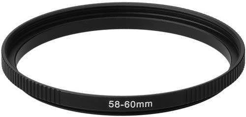 Sensei PRO 58-60mm Aluminum Step-Up Ring