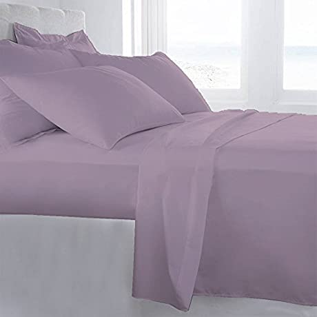 Lussona Collection 1200 Thread Count 200 GSM 100 Egyptian Cotton Quality 5 Piece Comforter Includes 1 PC Comfoter 4 PCs Sheet Set 15 Deep Pocket Cal King Pink