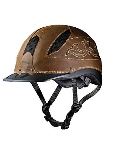 - Troxel Cheyenne Helmet, Brown, Large