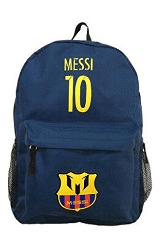 39407507f8846 Lionel Messi  10 Barcelona Soccer Jersey Backpack Premium Fan Gift Unique  School Bag (Soccer Backpack