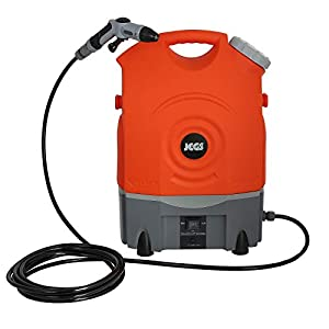 Jegs HT3 12V Rechargeable Portable Pressure Washer Cleaner – Space Saving Design