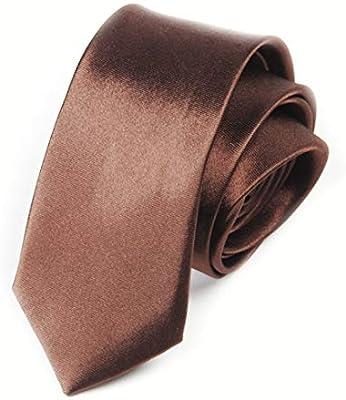 Funytine Corbata de Hombre Color sólido Corbata Color sólido ...