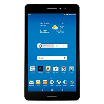 ZTE Trek 2 8'' tablet HD K88 AT&T 16GB Wifi 4G-LTE Android 6.0 (Marshmallow) by ZTE (Image #3)