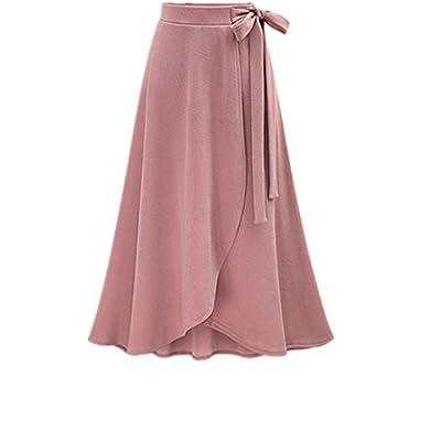 Women's Beautiful High Waist Flared Skirt A-Line Skater Skirt