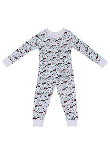 Baby Long Sleeve Holiday Pajama Set - 100% Soft