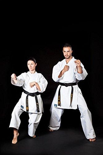 Kimono Karate President Kata' Profess. Arti Marziali KO L'artigiano dello Sport - bianco