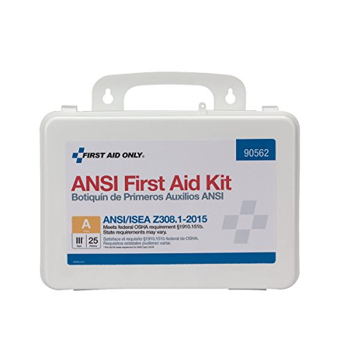 First Aid Only 90562 25 Person Bulk ANSI A First Aid Kit