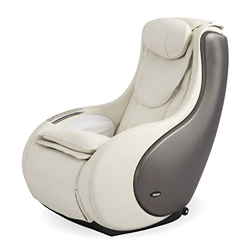 Titan Chair TITANPOD Titan Pod Massage Chair, INCHES, Cream