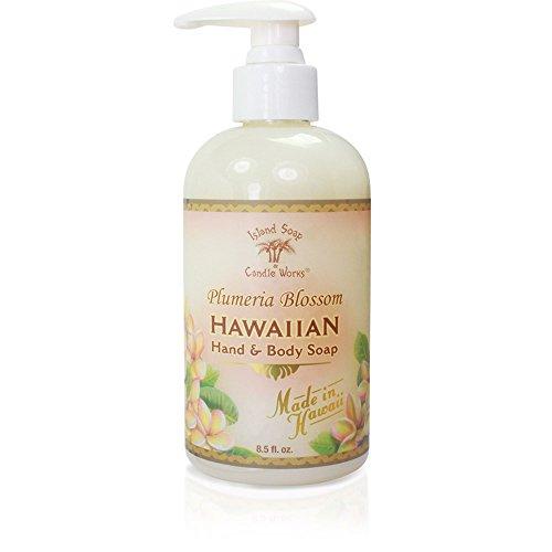 Island Plumeria (Island Soap & Candle Works Hawaiian Hand and Body Soap, Plumeria)